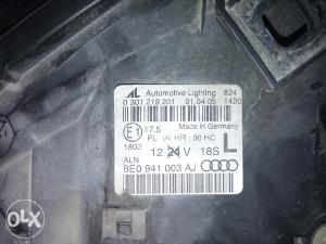 Far prednji lijevi Audi A4 2005
