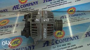 Alternator VW Touran 1.9 TDI 06g 988045340 AE 647