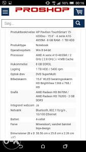 Hp Pavilion 15 n030so Touch Smart u dijelove
