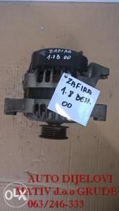 Alternator Opel Zafira 1.8 Benzin 2000