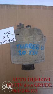 Alternator Volkswagen Tuareg 3.0 TDI