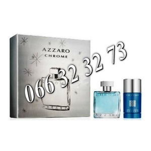 Azzaro Chrome 100ml + 75ml Stick ... M 100 ml