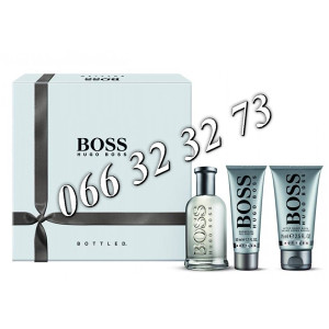 Hugo Boss Bottled 100ml + 75ml ASB + 50ml SG M 100 ml