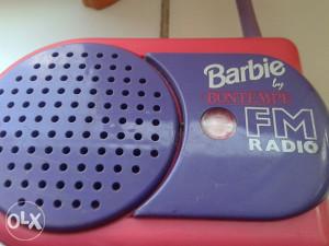 Barbie radio na baterije