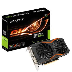 GIGABYTE  GTX 1050TI GTX 1050 Ti 4GB GDDR5 G1 Gaming