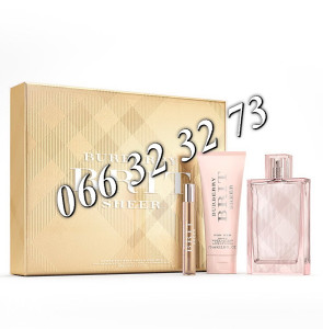 Burberry Brit Sheer 100ml + 7,5ml + 75ml BL .. Ž 100 ml