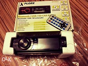 Auto radio, BLUETOOTH, USB port, AUX IN, SD card
