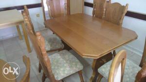 Stol i 6 stolica hil