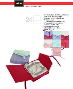 Kutije za nakit B7 Narukvice Satovi