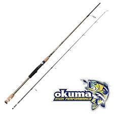 """Okuma Dead Ringer 6'1"""" 185cm 3-12g Spin - 2sec"""