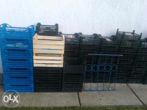 plastične i drvene gajbe