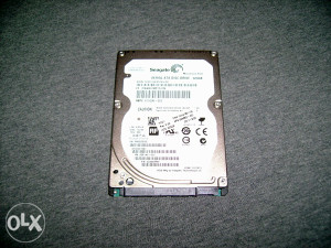 "Seagate 320GB 2.5"" SATA HDD"