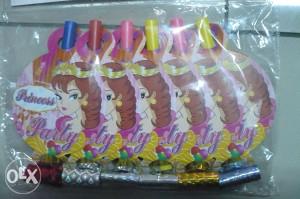 Puhaljka pištaljka za proslave princess 6>1