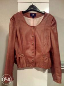 Elegantna kožna jakna