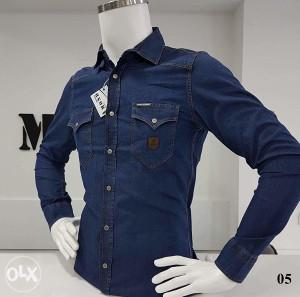 Košulja muška DENIM 05