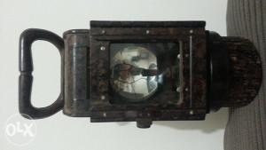 ww2 bakelitna lampa karabit
