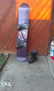 snowboard sa cizmama