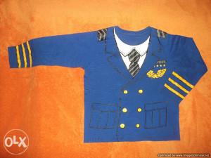 """Majica Pilotska """"uniforma"""",vel.4-5 god,Danska"""