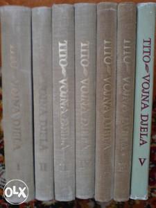 TITO - VOJNA DJELA komplet knjiga