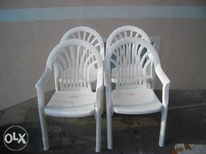 Stolice - 4 Komada