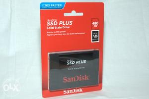 SSD SATA3 Sandisk 480GB Standard Plus 535Mbs/445Mbs