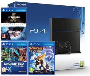 Sony PlayStation 4 PS4 500GB + 6 igara na 3 CD-a !!!