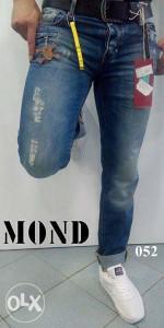 Pantalone muške hlače PHILIPP PLEIN 052