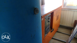 Vijčani kompresor sa bocom od 750l