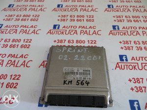 KOMPJUTER MOTORA MERCEDES SPRINTER 2.2 CDI 2002g. 0281010970 A0001537379