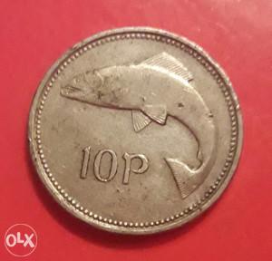 Irska,10 penija 1993.