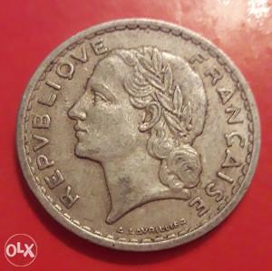 Francuska,5 franaka 1949.