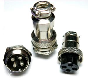 Industrijski konektor GX16 - 4 pina