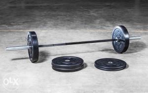 CROSSFIT SET ZA POČETNIKE 80kg Olimpijska sipka i utezi