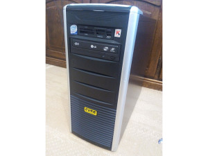STEG 4jezgra Q9550, 4GB DDR2, GeForce 9800GT, HDD 250GB