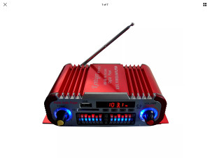Mini pojacalo s radiom