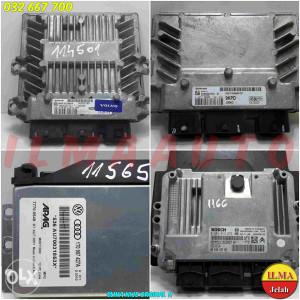 ELEKTRONIKA MOTORA 6S6112A650GD FIESTA 1.6 16V ILMA