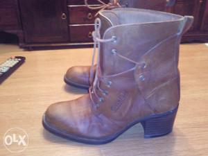 GREENFIELD ženske kožne čizme 39
