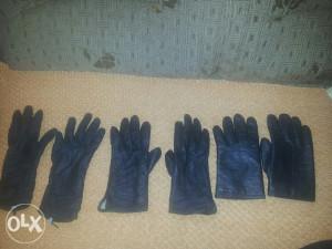 Ženske Kožne rukavice sa postavom 100 %koža