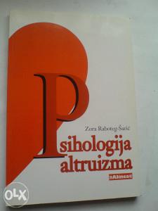 knjige Zora Raboteg-Šarić: Psihologija altruizma