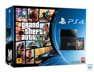 Sony PlayStation 4 + GTA 5 PS4