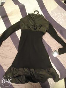 Zenska crna haljina