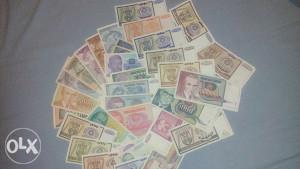Novcanice dinar  YU i RS
