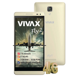 Android Smartphone VIVAX SMART Fly 2 gold