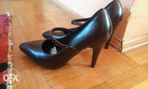 Cipele nove, bordo, broj 38