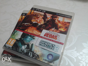 PS3 Ghost recon 2 i vegas 2 062/528-598