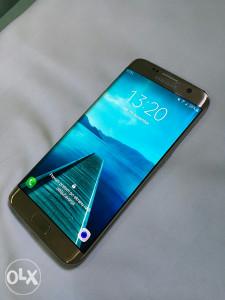 Samsung GALAXY S7 Edge * GOLD PLATINIUM SM-G935F *