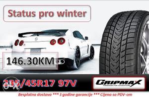 235 45 17 97V GRIPMAX Status pro winter R17