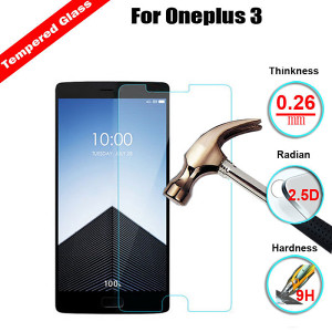 OnePlus 3 Tempered Glass