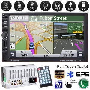 Auto radio, GPS navigacija, video; MP5; Bluetooth;