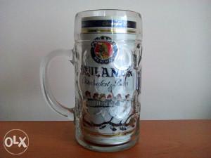 Krigla za pivo 1 lit. PAULANER